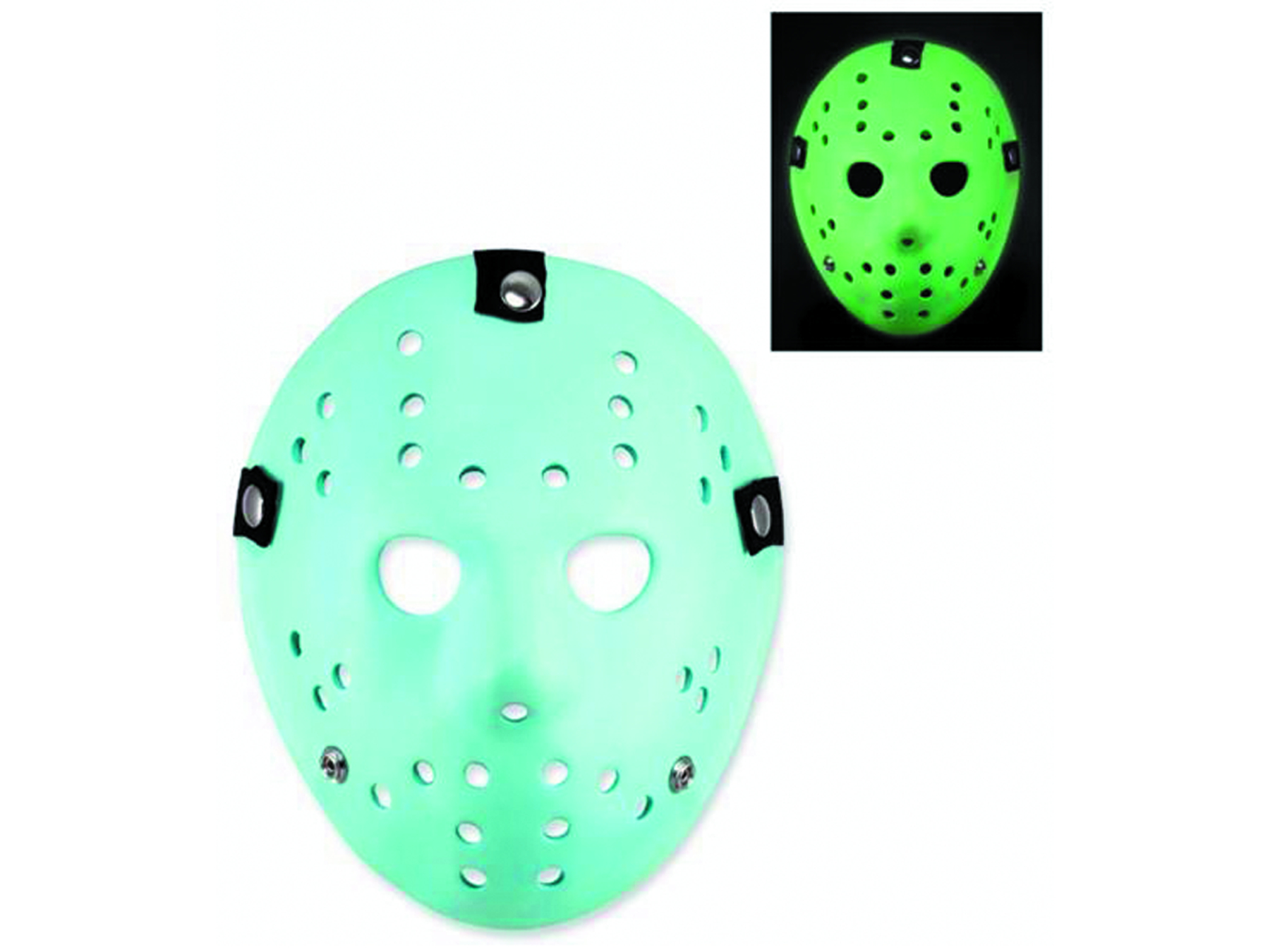 FRIDAY THE 13TH JASON MASK GID PROP REPLICA