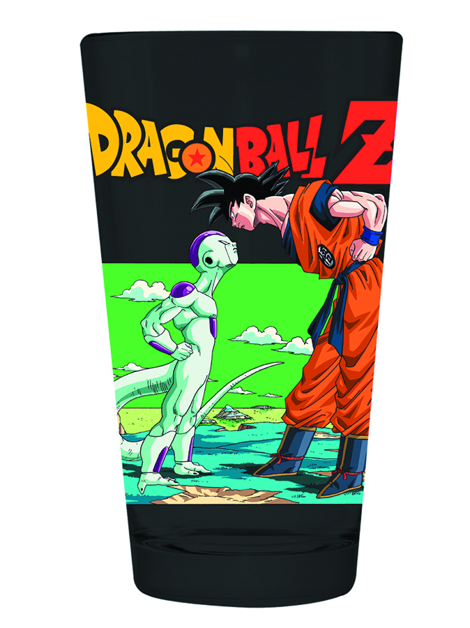 DBZ FRIEZA & GOKU PINT GLASS
