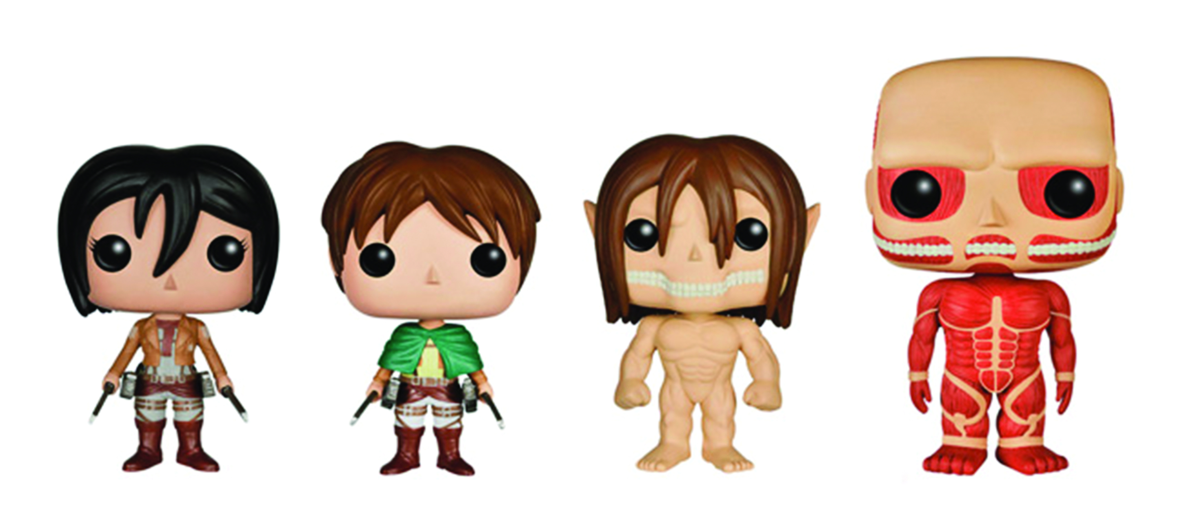 POP ATTACK ON TITAN EREN TITAN FORM VINYL FIG