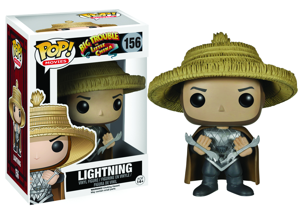 POP BIG TROUBLE IN LITTLE CHINA LIGHTNING VINYL FIG