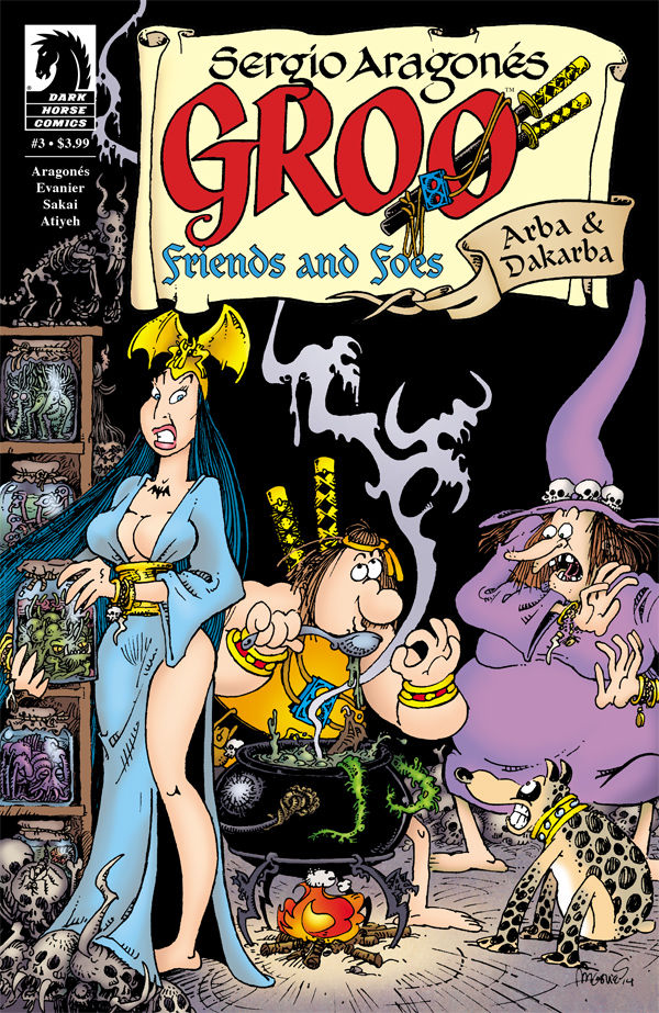 GROO FRIENDS AND FOES #3