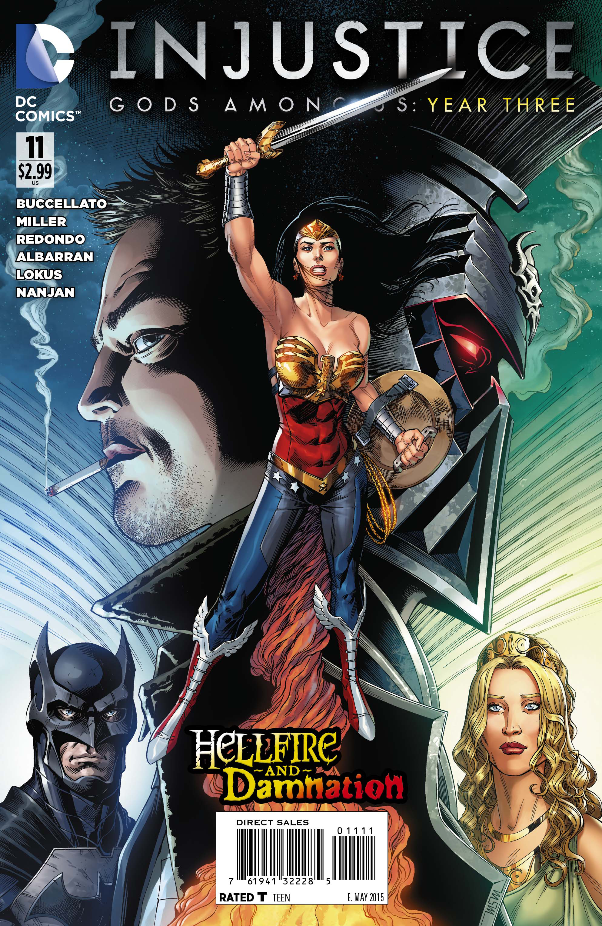 INJUSTICE GODS AMONG US YEAR THREE #11