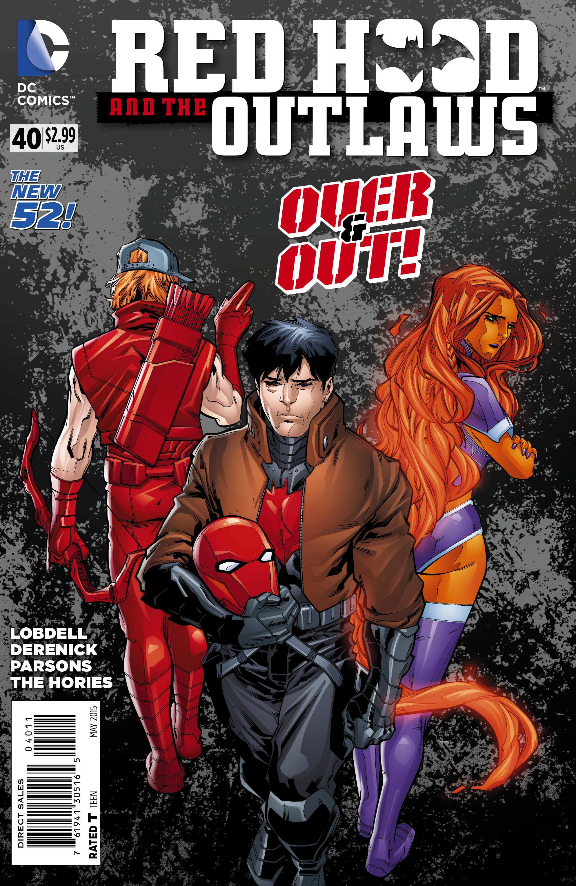 RED HOOD AND THE OUTLAWS #40