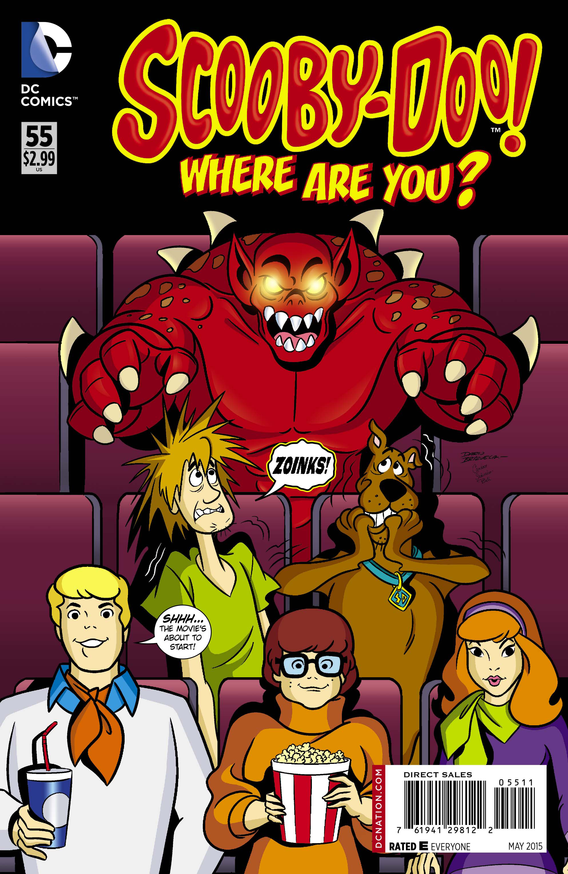 SCOOBY DOO WHERE ARE YOU #55