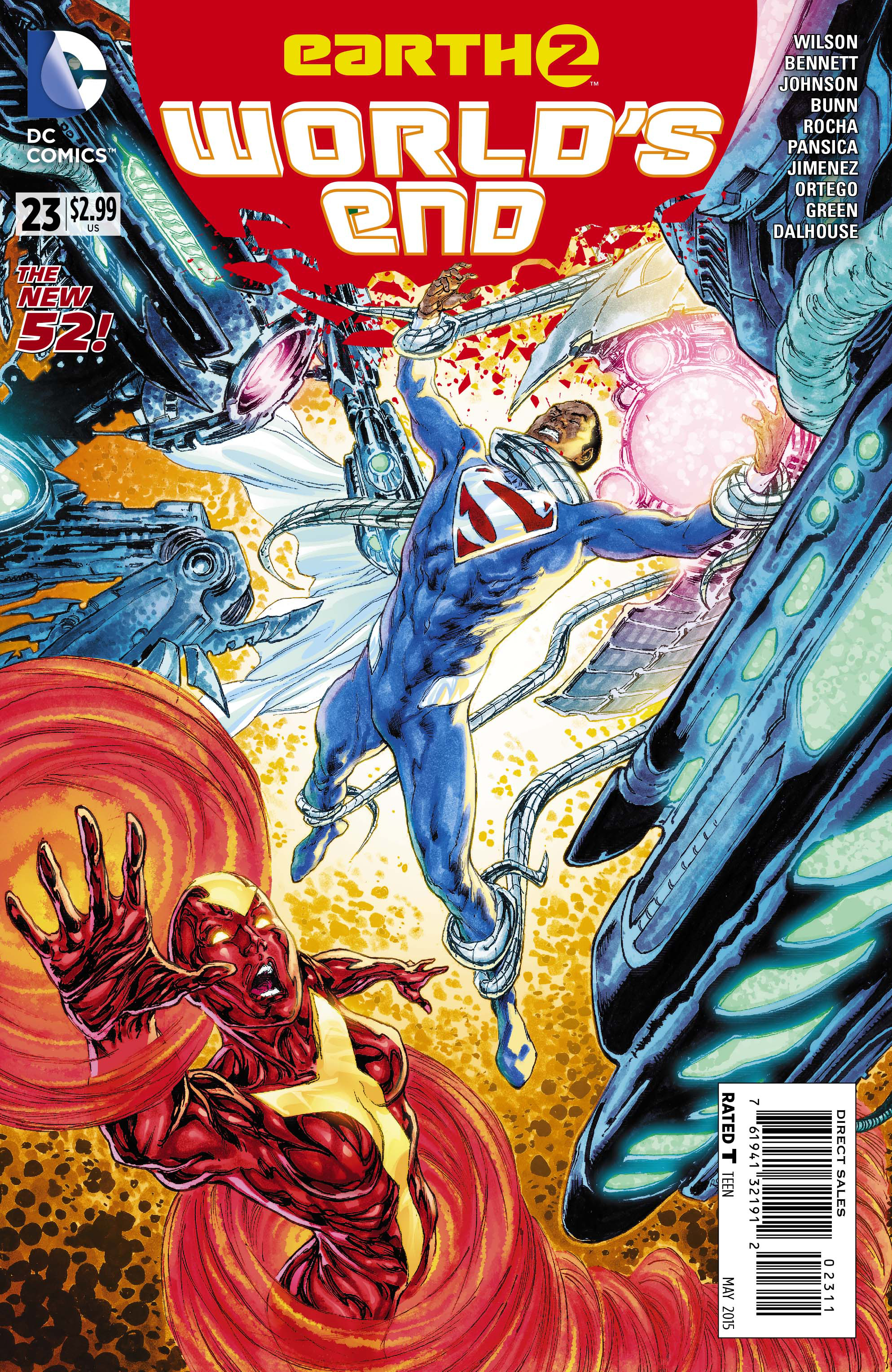 EARTH 2 WORLDS END #23