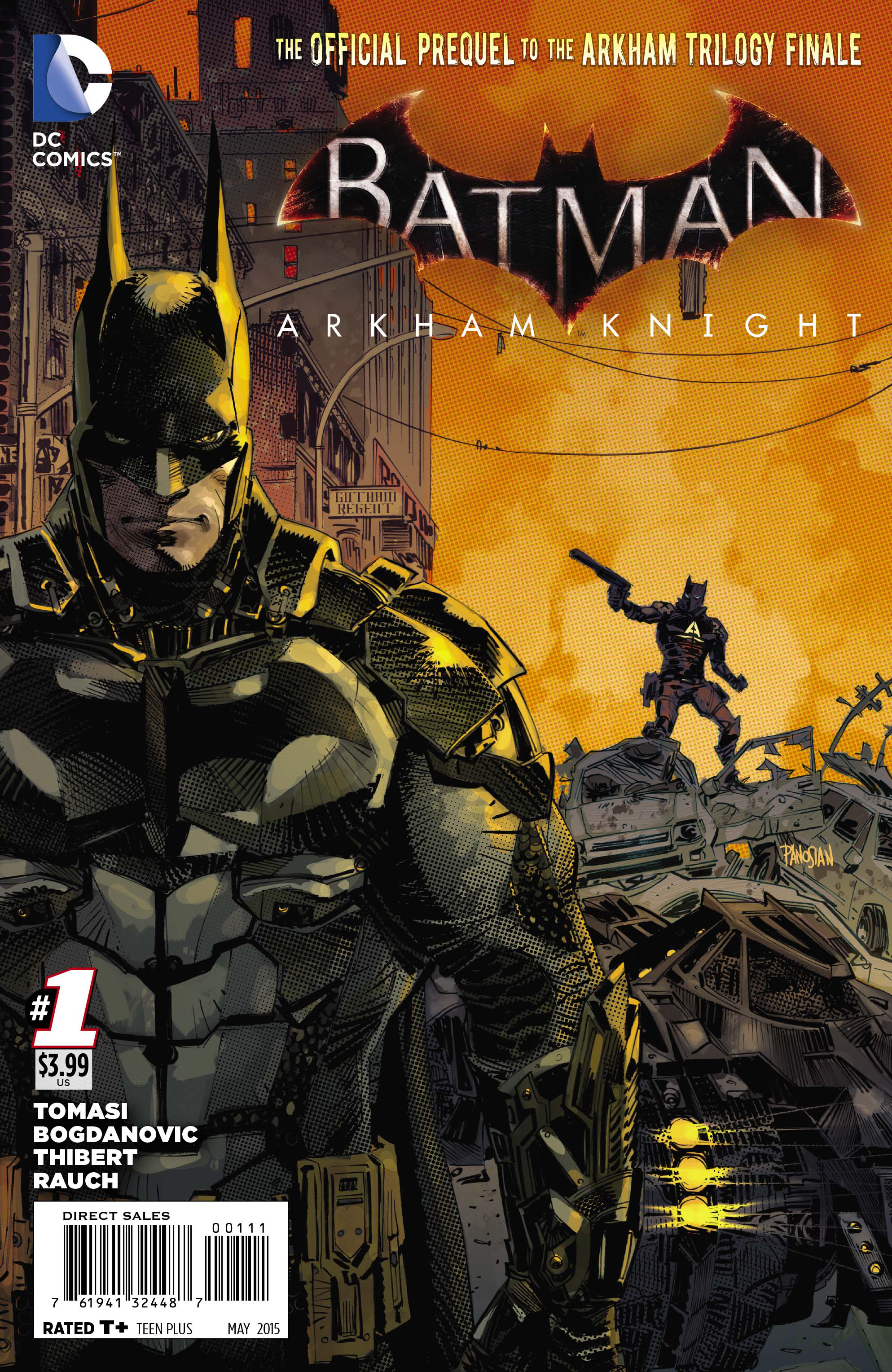 BATMAN ARKHAM KNIGHT #1
