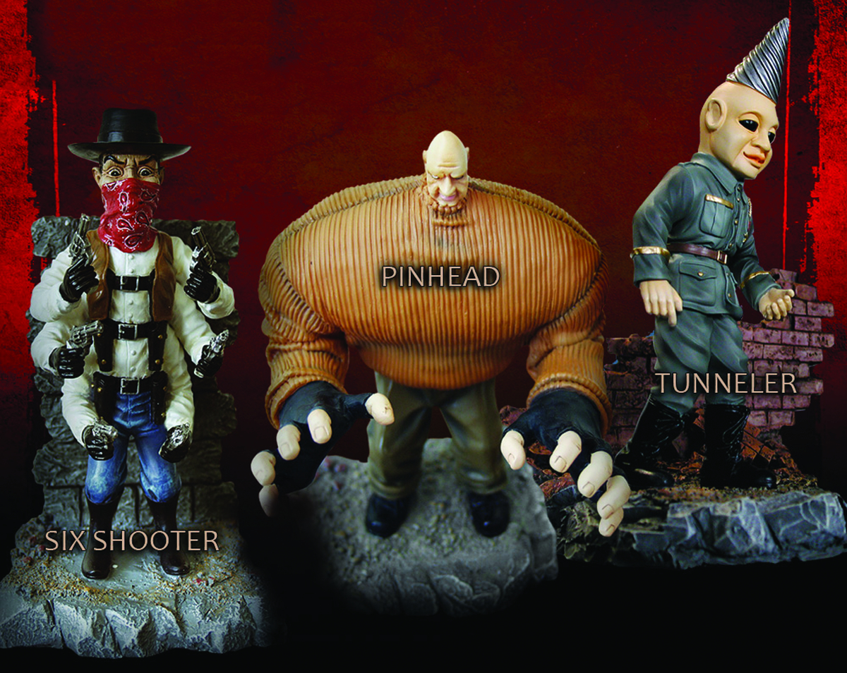 PUPPET MASTER SIX SHOOTER RESIN STATUE