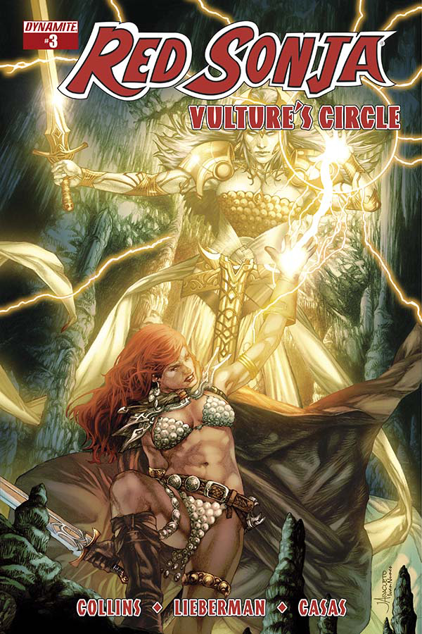 RED SONJA VULTURES CIRCLE #3 CVR A ANACLETO MAIN