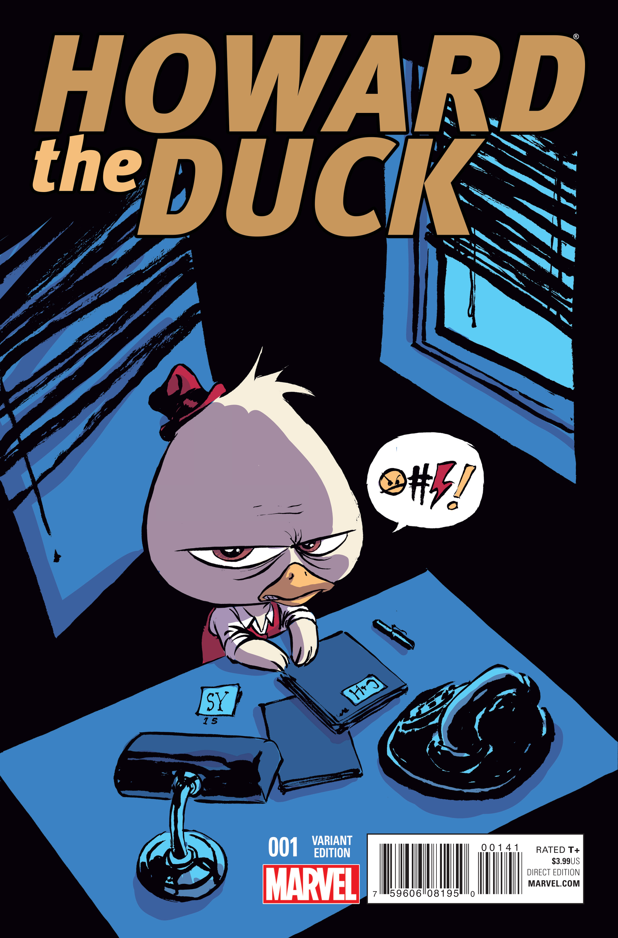 HOWARD THE DUCK #1 YOUNG VAR