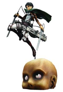 ATTACK ON TITAN LEVI 1/8 PVC FIG
