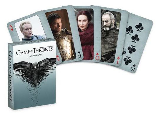 GAME OF THRONES PLAYING CARDS 2ND ED