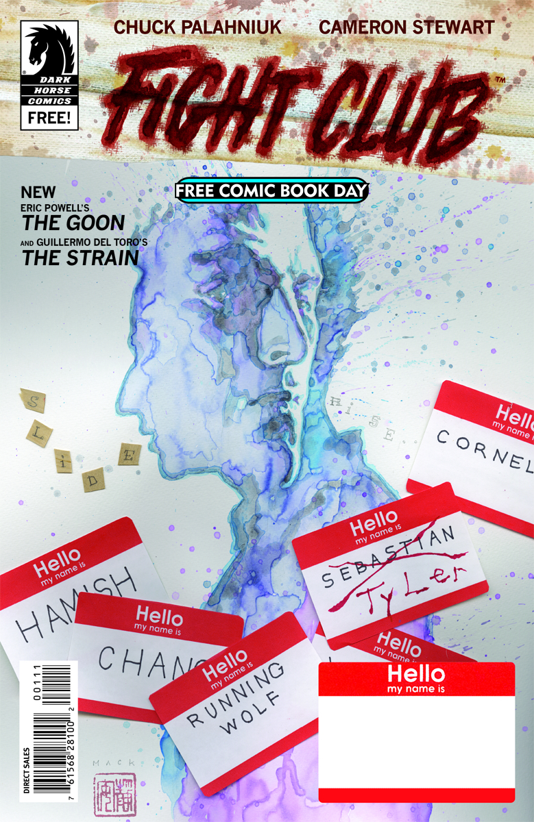 FCBD 2015 DARK HORSE FIGHT CLUB THE GOON THE STRAIN
