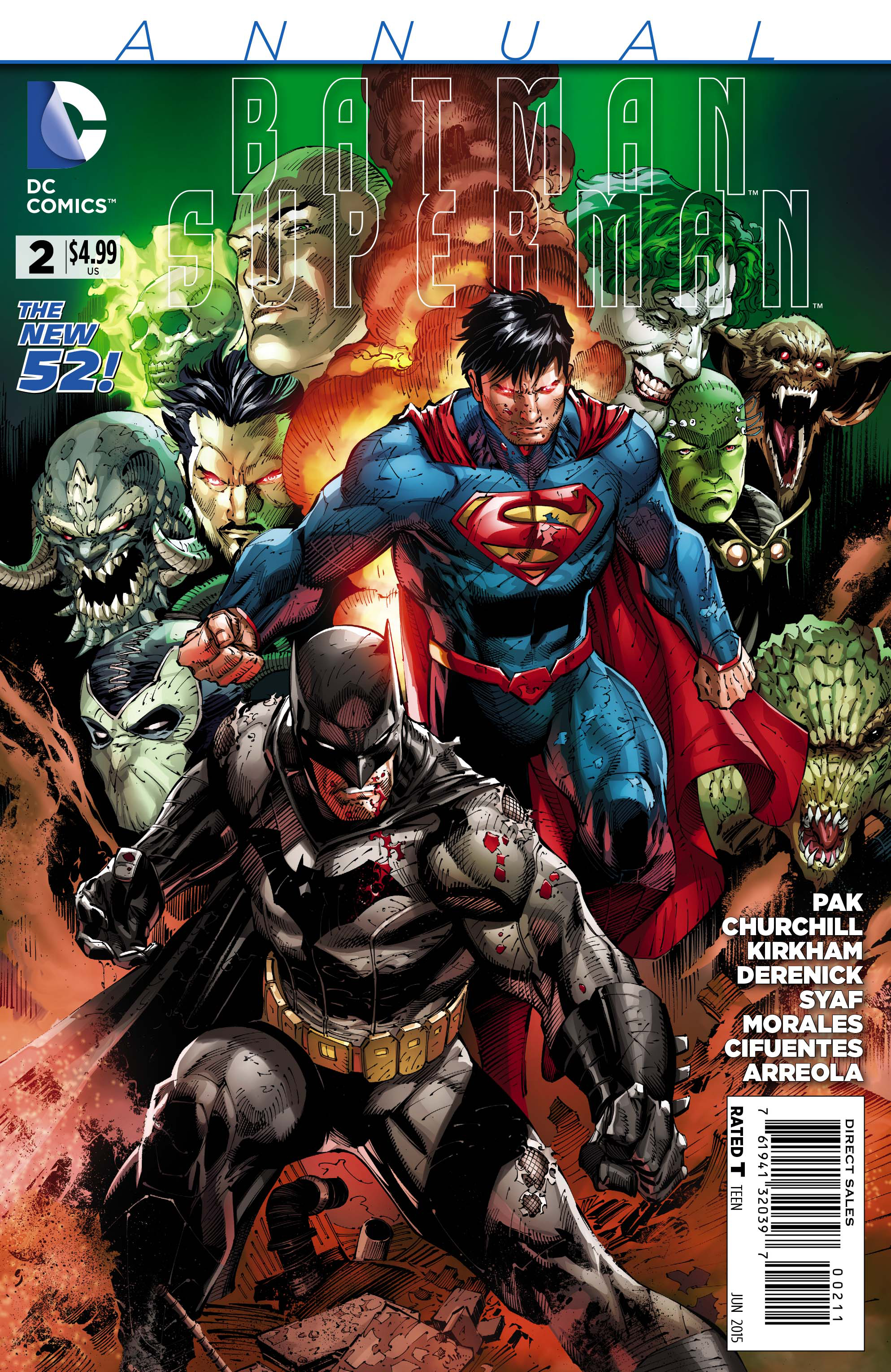 BATMAN SUPERMAN ANNUAL #2