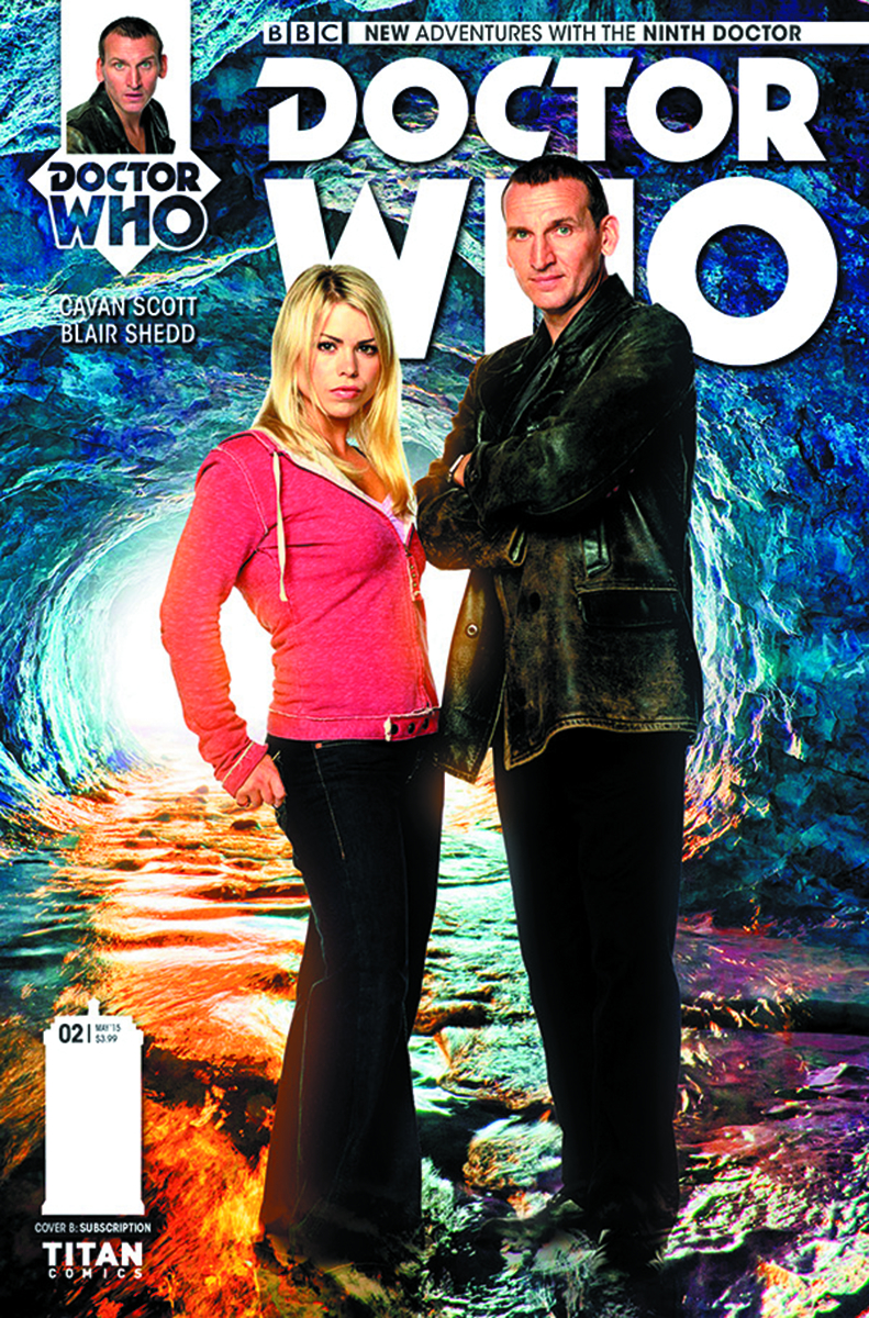 DOCTOR WHO 9TH #2 (OF 5) SUBSCRIPTION PHOTO