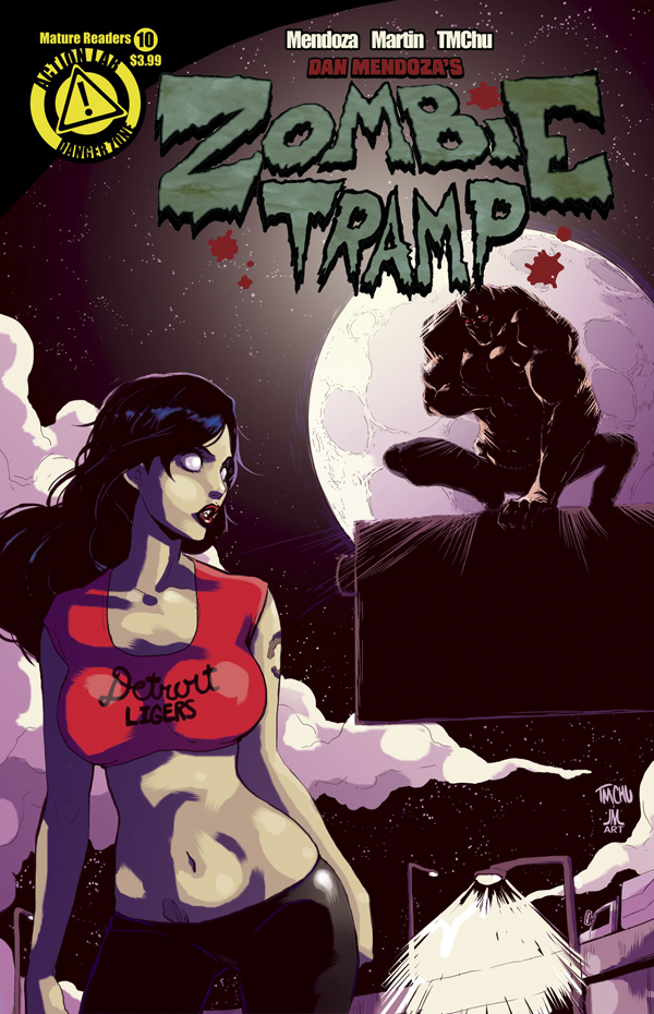 ZOMBIE TRAMP ONGOING #10 MAIN CVR (MR)