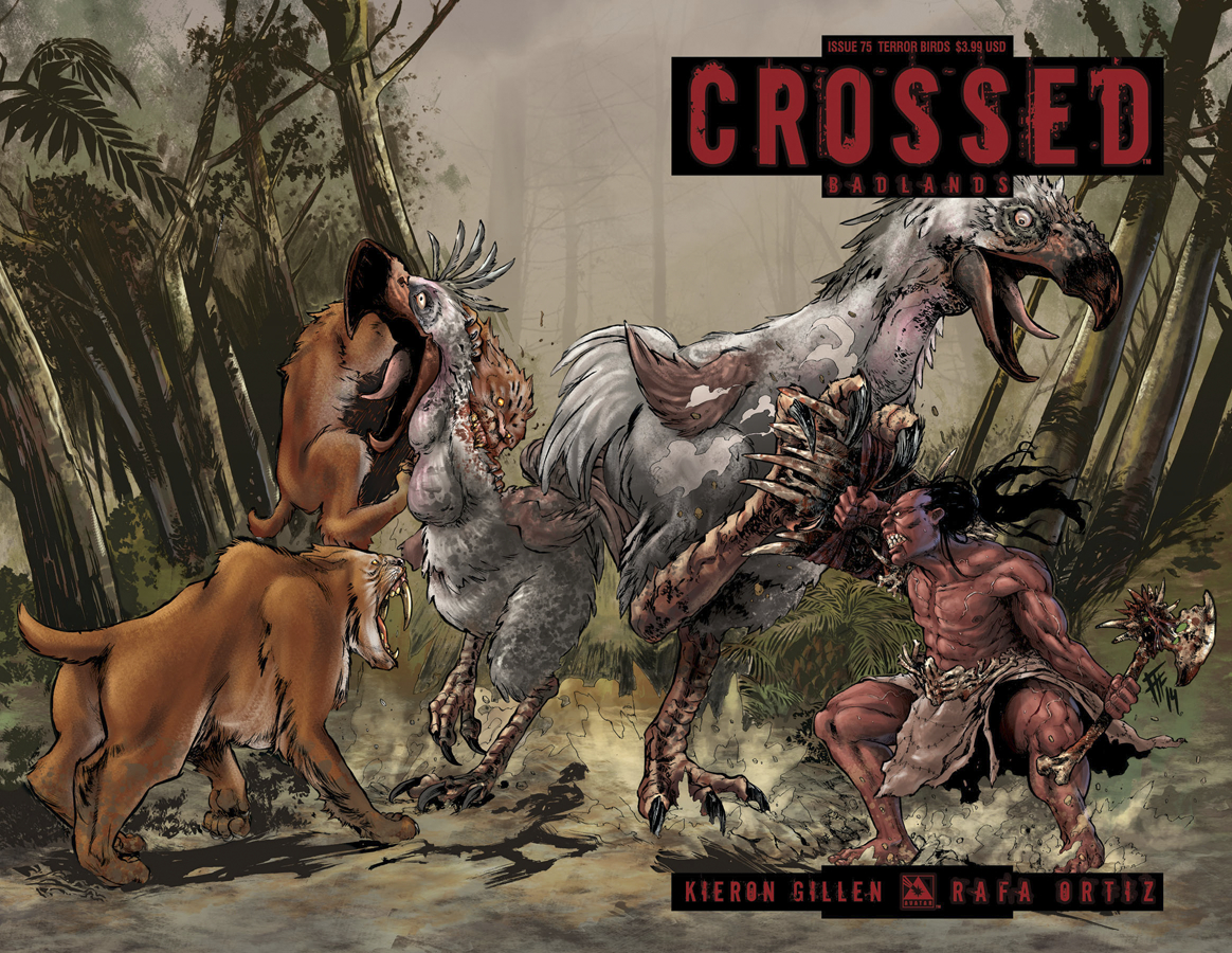 CROSSED BADLANDS #75 TERROR BIRDS CVR (MR)
