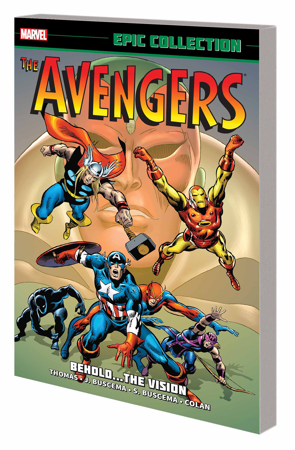 AVENGERS EPIC COLLECTION TP BEHOLD VISION