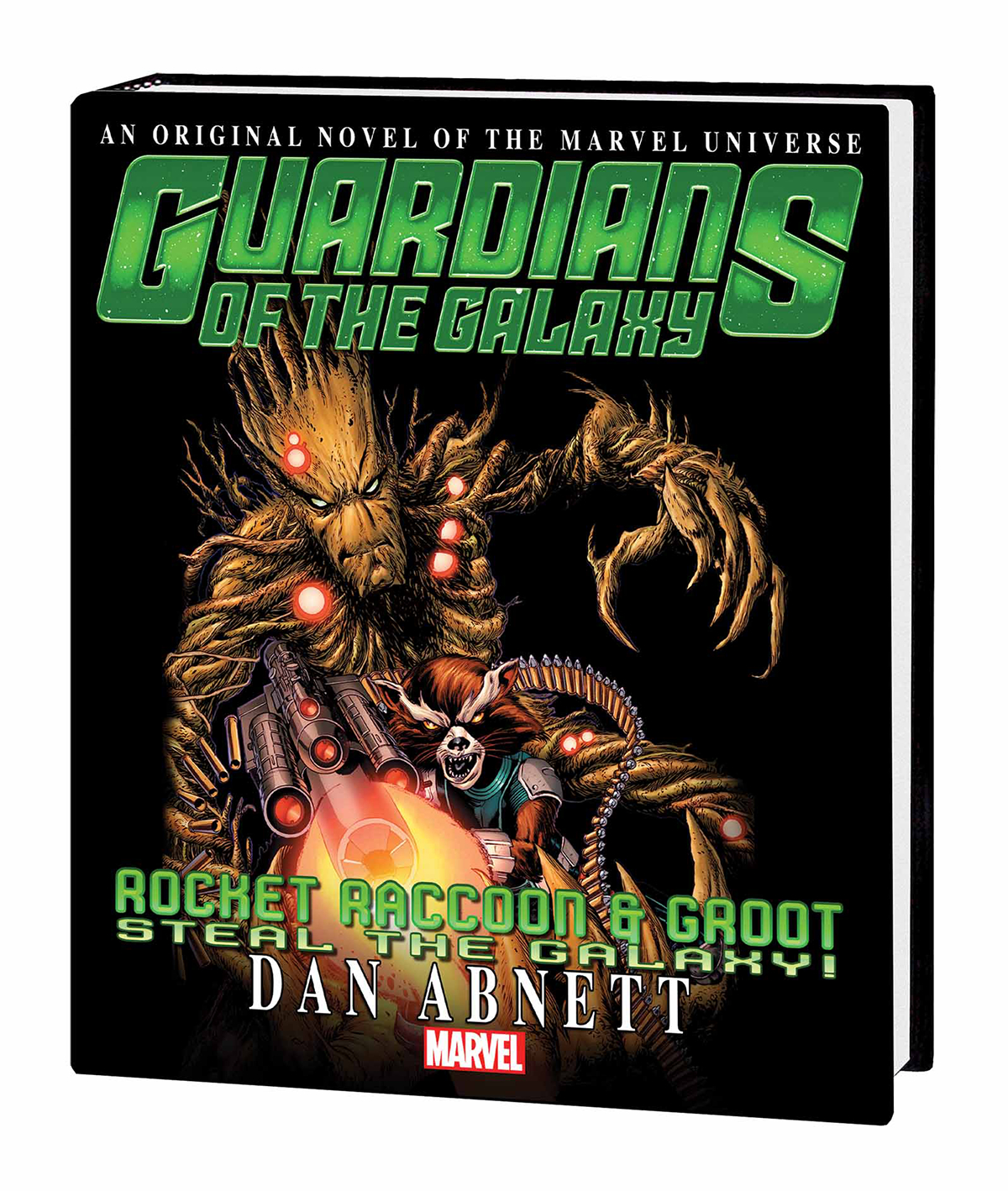 GOTG RR AND GROOT STEAL GALAXY PROSE NOVEL MARKET TP