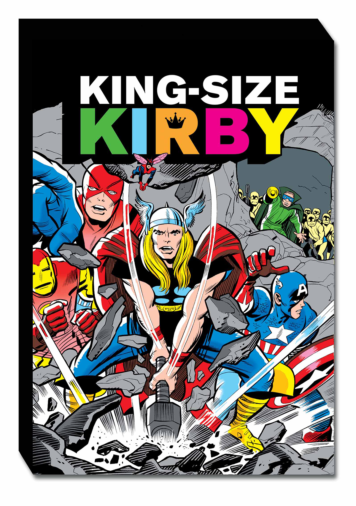 KING SIZE KIRBY SLIPCASE HC