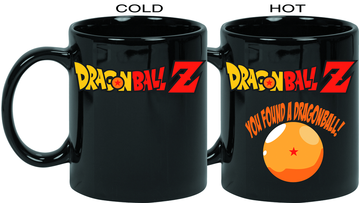 DRAGONBALL Z LOGO HEAT CHANGE MUG