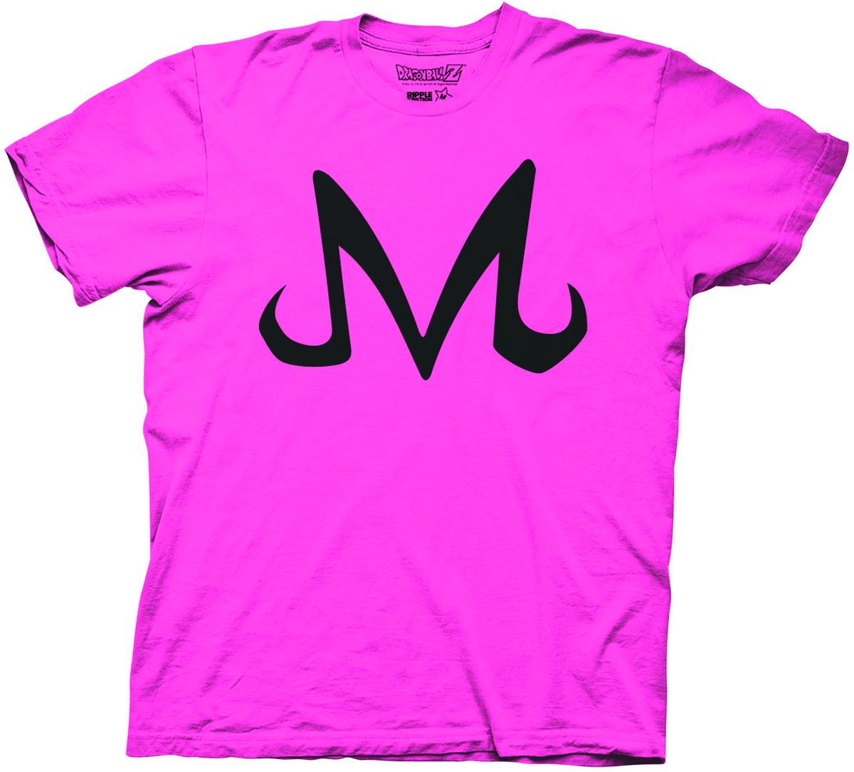 Feb152537 Dbz Majin Buu Symbol Pink Ts Sm Previews World