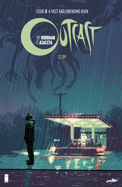 OUTCAST BY KIRKMAN & AZACETA #8 (MR)