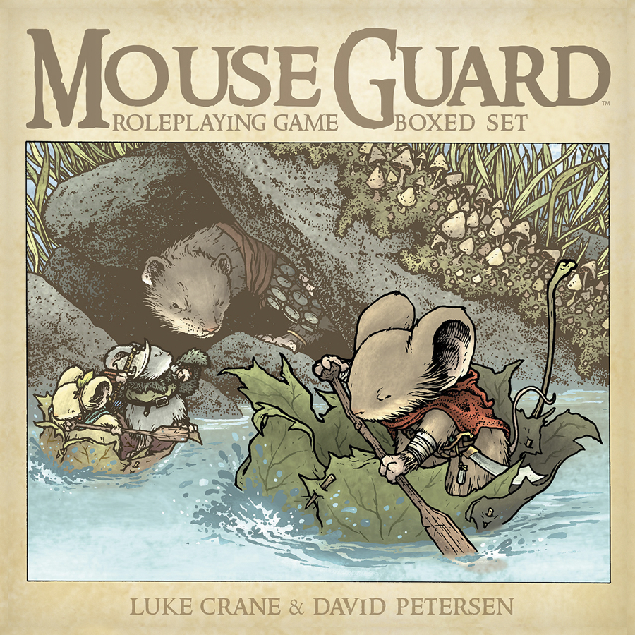 MOUSE GUARD ROLEPLAYING GAME HC BOXED SET (2ND ED)