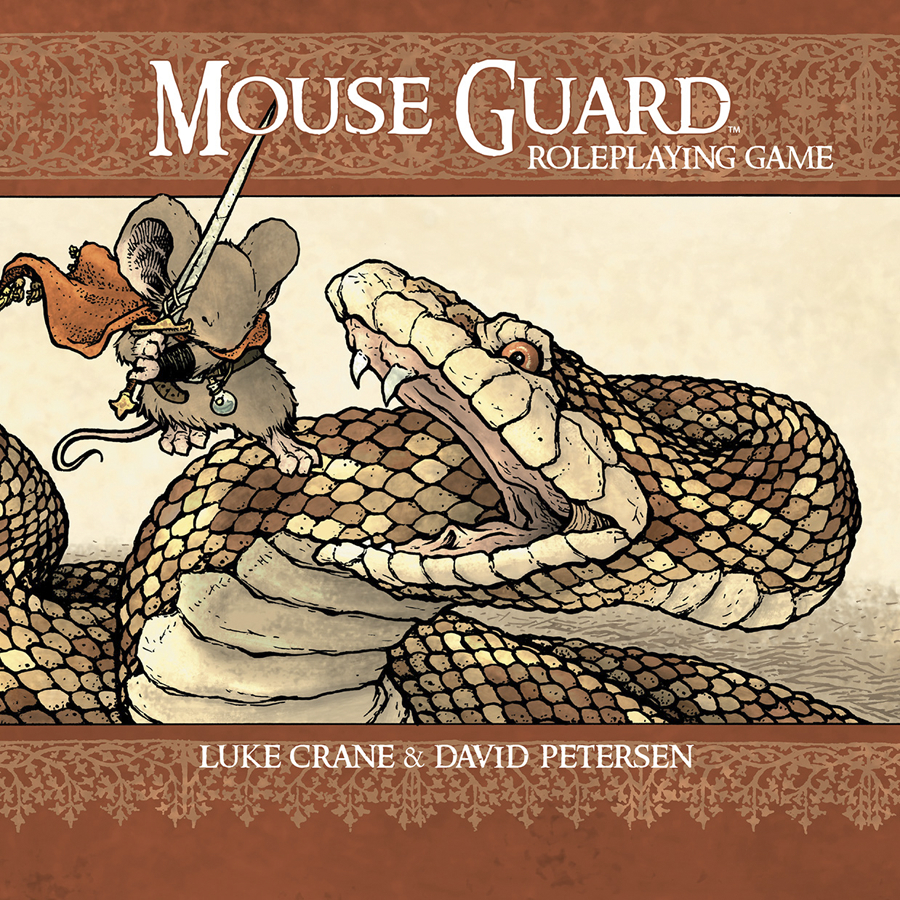 MOUSE GUARD ROLEPLAYING GAME HC