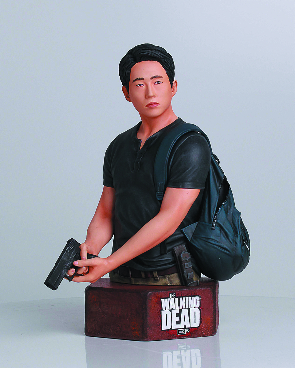 WALKING DEAD TV GLENN RHEE MINI-BUST