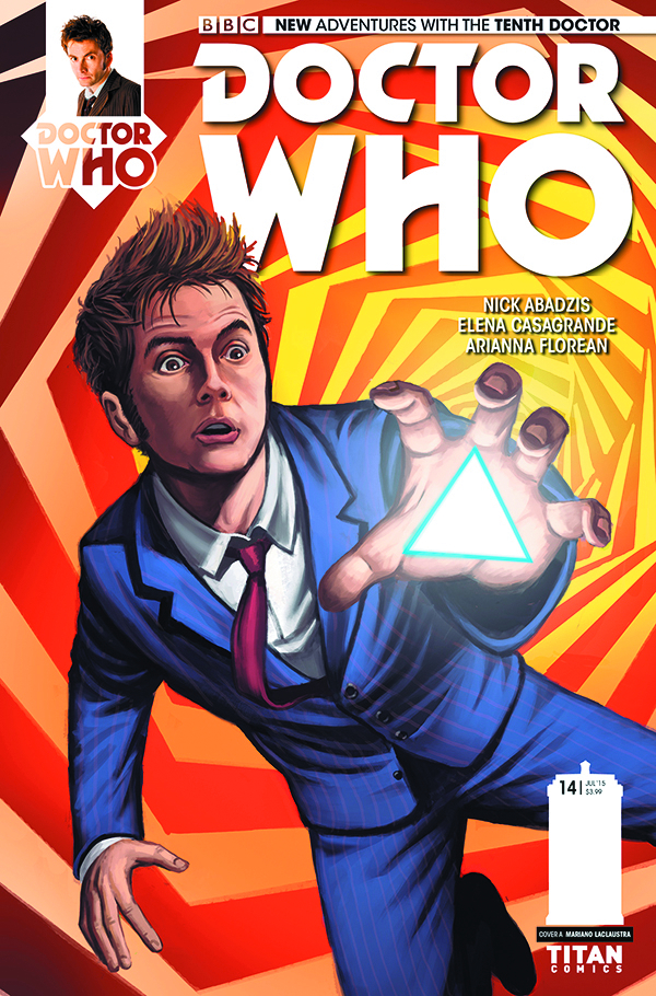 DOCTOR WHO 10TH #14 REG LACLAUSTRA