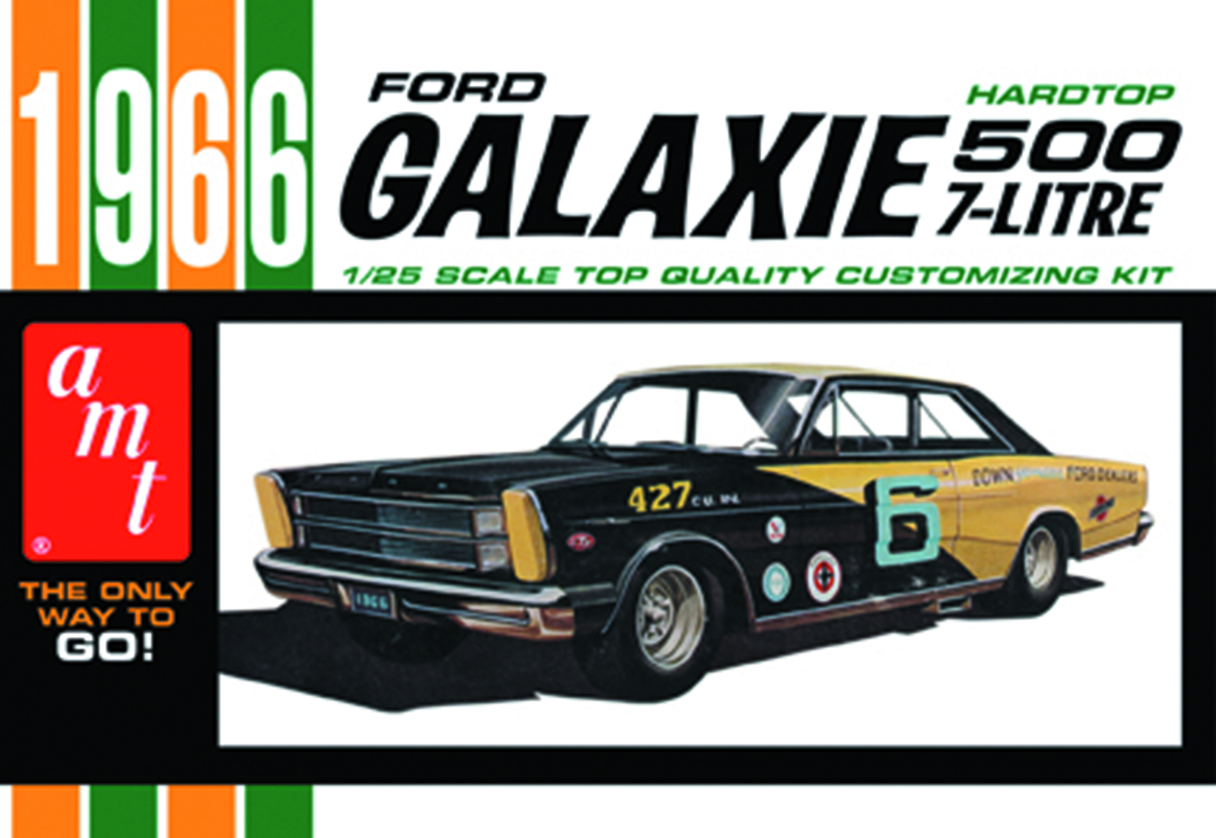 1966 FORD GALAXIE 1/25 MODEL KIT