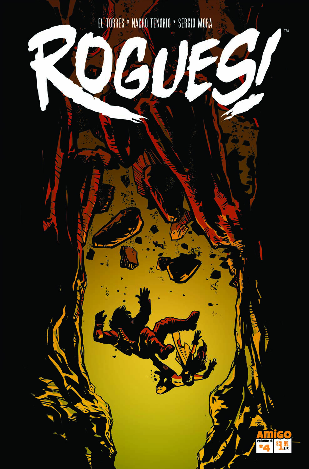 ROGUES #4 (OF 5) ODD PARENTHOOD (RES)