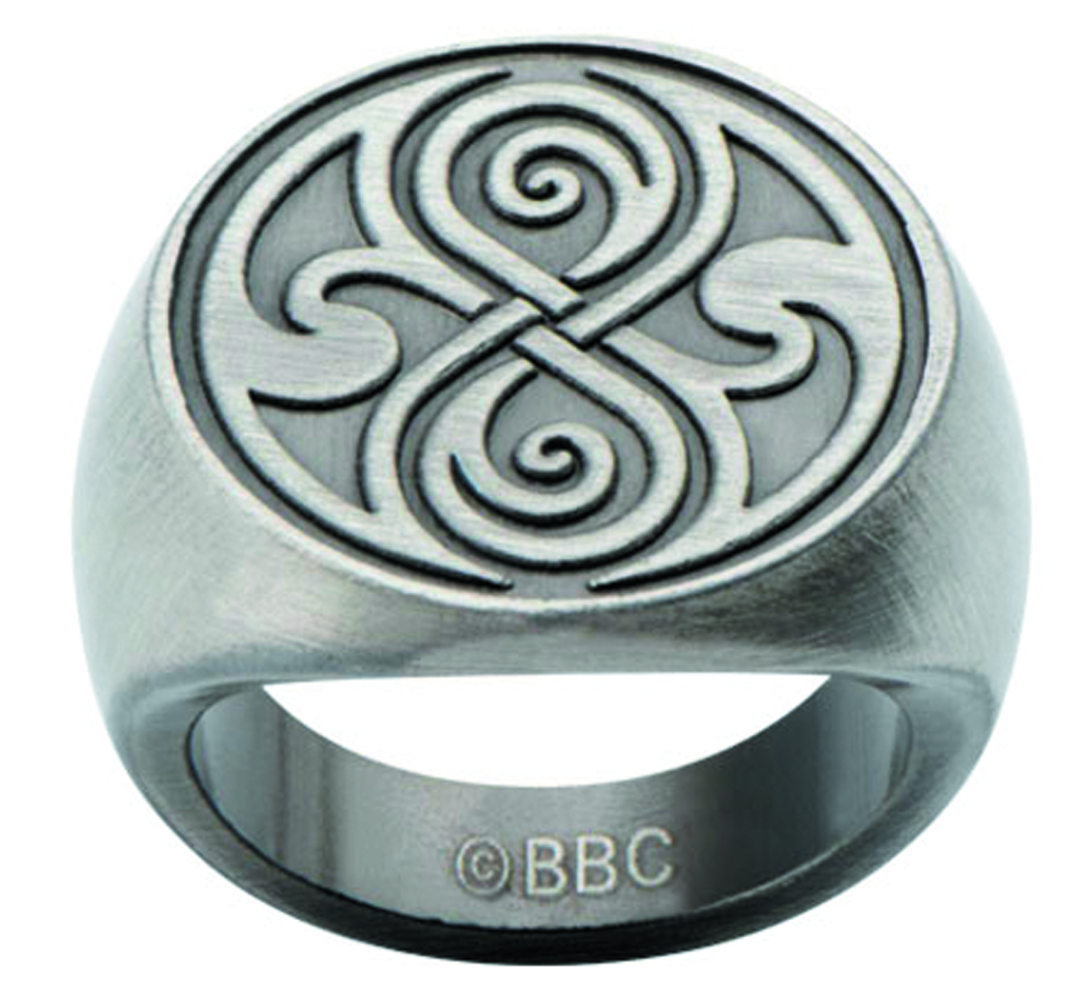DOCTOR WHO Dr. Who Seal of Rassilon Ring FxVWNZytL