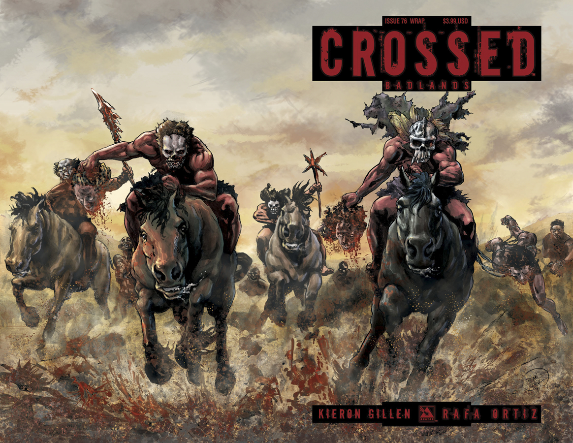 CROSSED BADLANDS #76 WRAP CVR (MR)