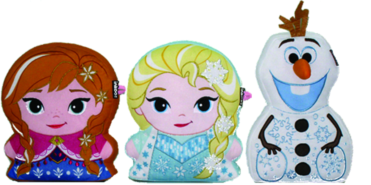 INKOOS FROZEN COLOR N CREATE PLUSH ASST