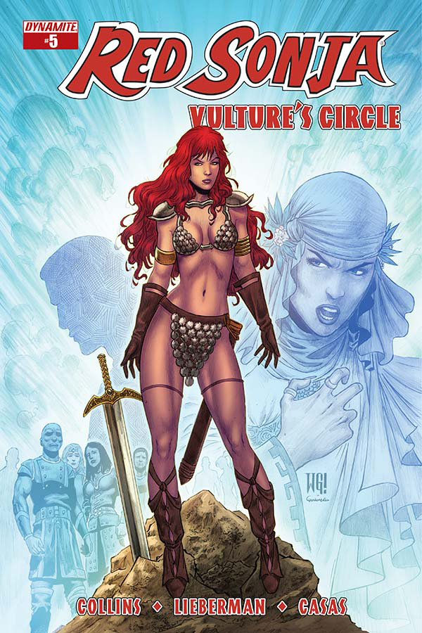 RED SONJA VULTURES CIRCLE #5 CVR B GEOVANI VAR