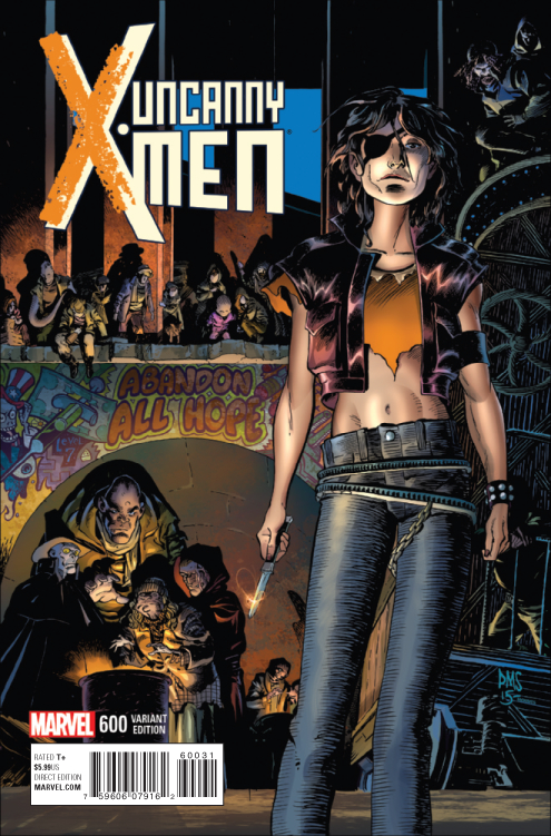 UNCANNY X-MEN #600 SMITH VAR