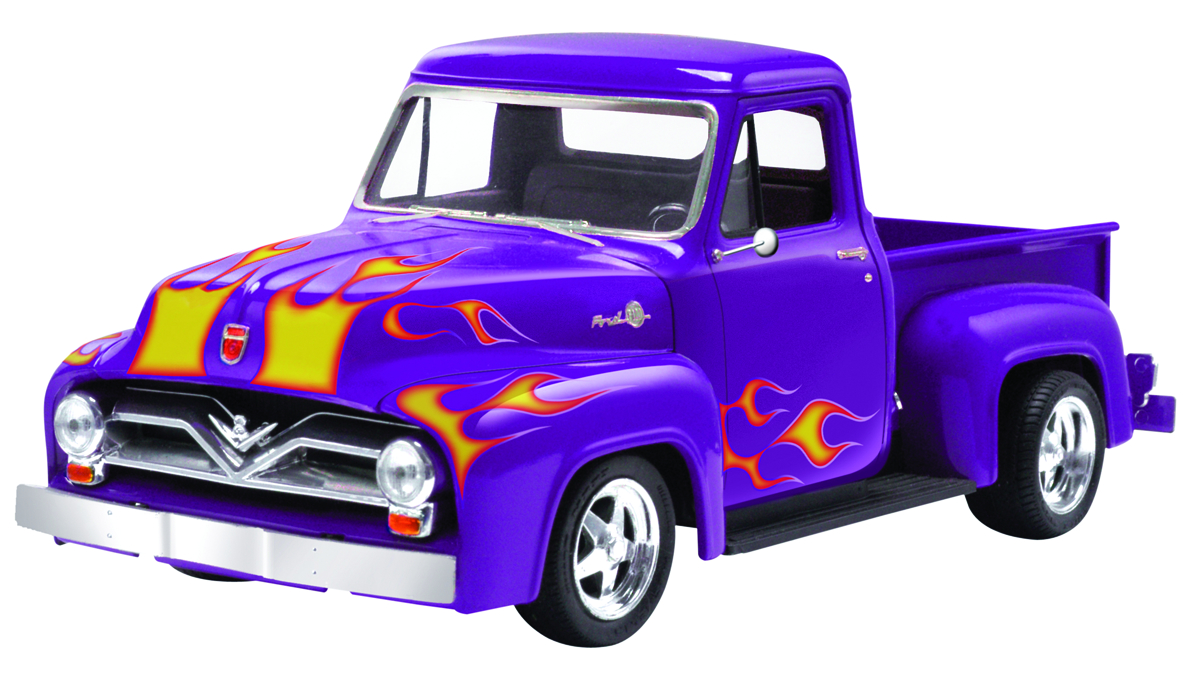 1955 Ford F100 Hot Rod Apr152472 Street 1 25 Scale Mod Kit Previews