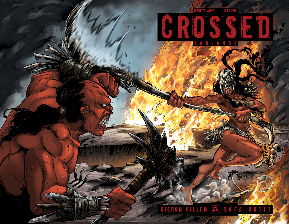 CROSSED BADLANDS #79 WRAP CVR (MR)