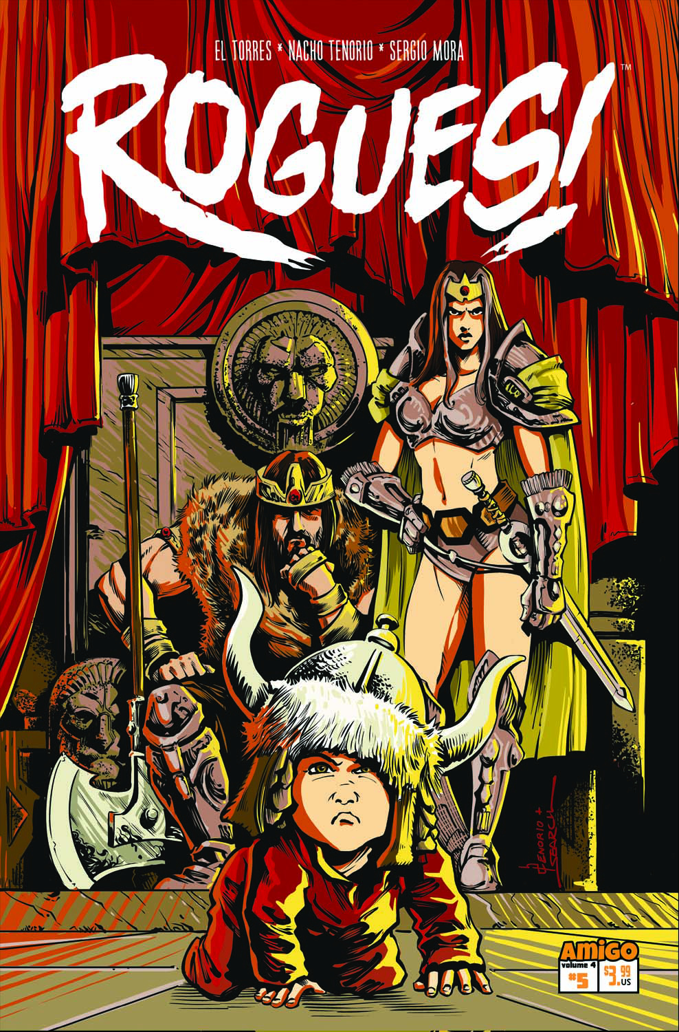 ROGUES #5 (OF 5) ODD PARENTHOOD (RES)