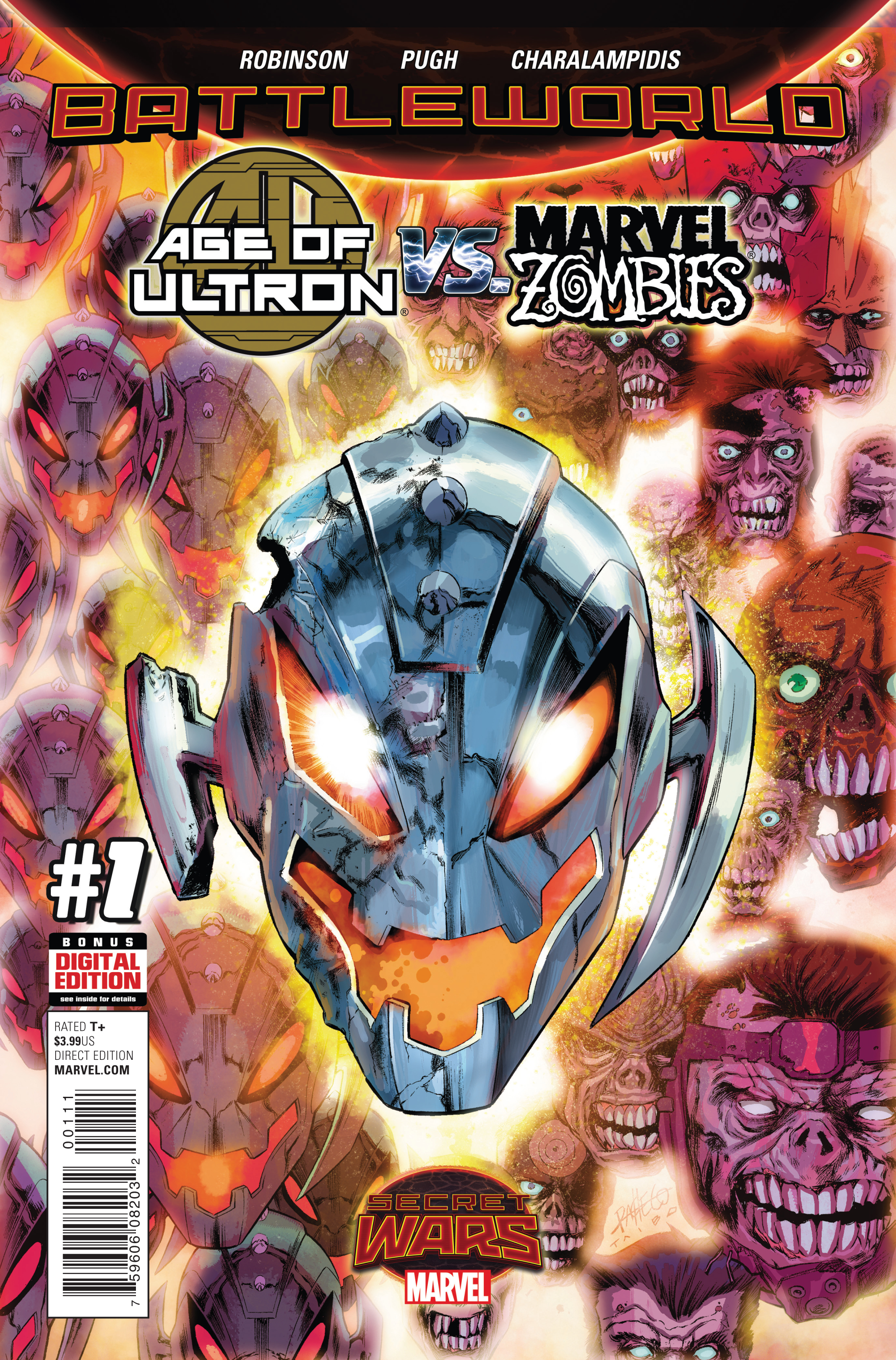 AGE OF ULTRON VS MARVEL ZOMBIES #1 SWA