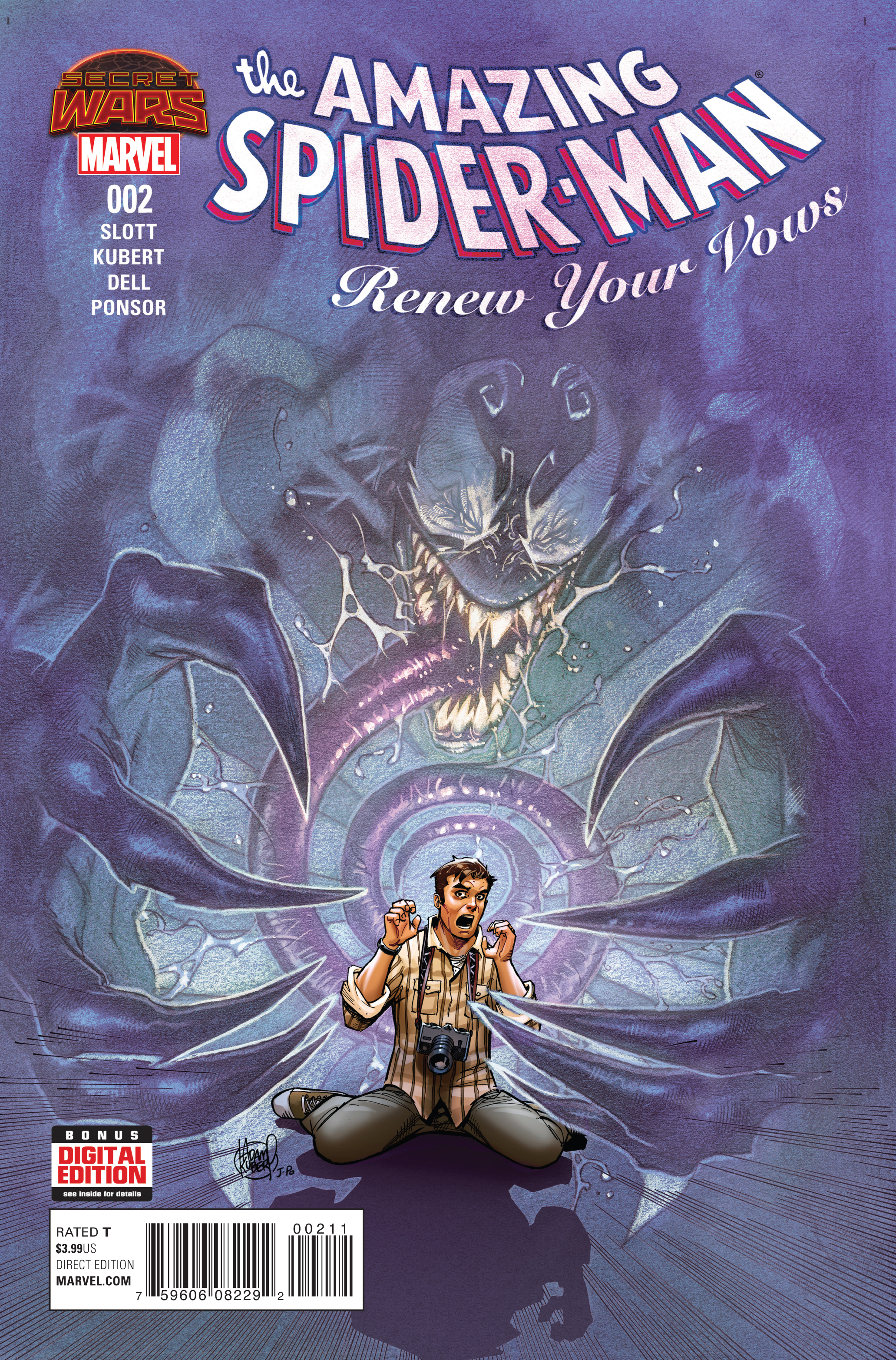AMAZING SPIDER-MAN RENEW YOUR VOWS #2 SWA
