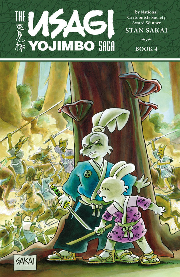 USAGI YOJIMBO SAGA TP VOL 04