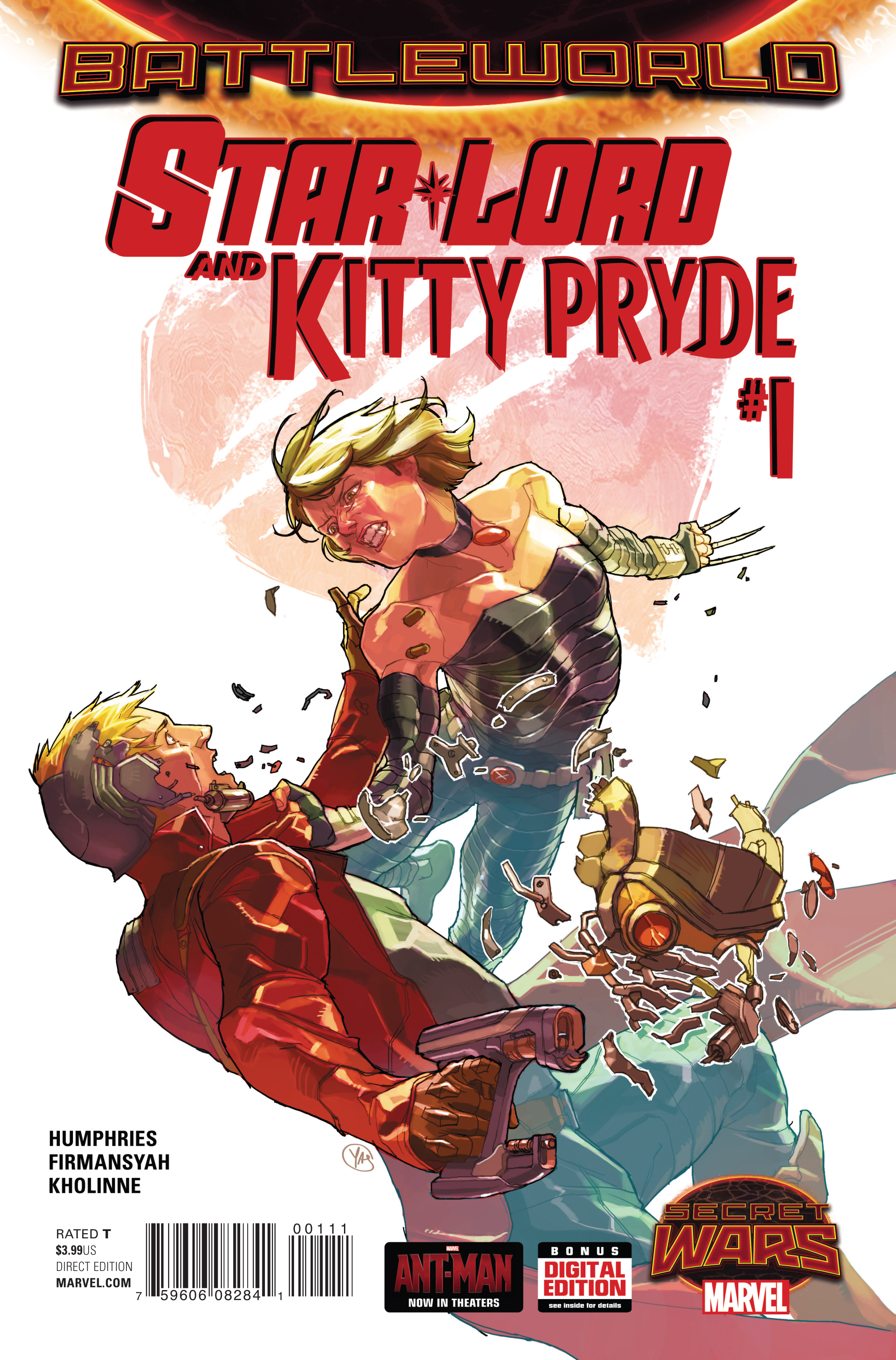 STAR-LORD AND KITTY PRYDE #1 SWA