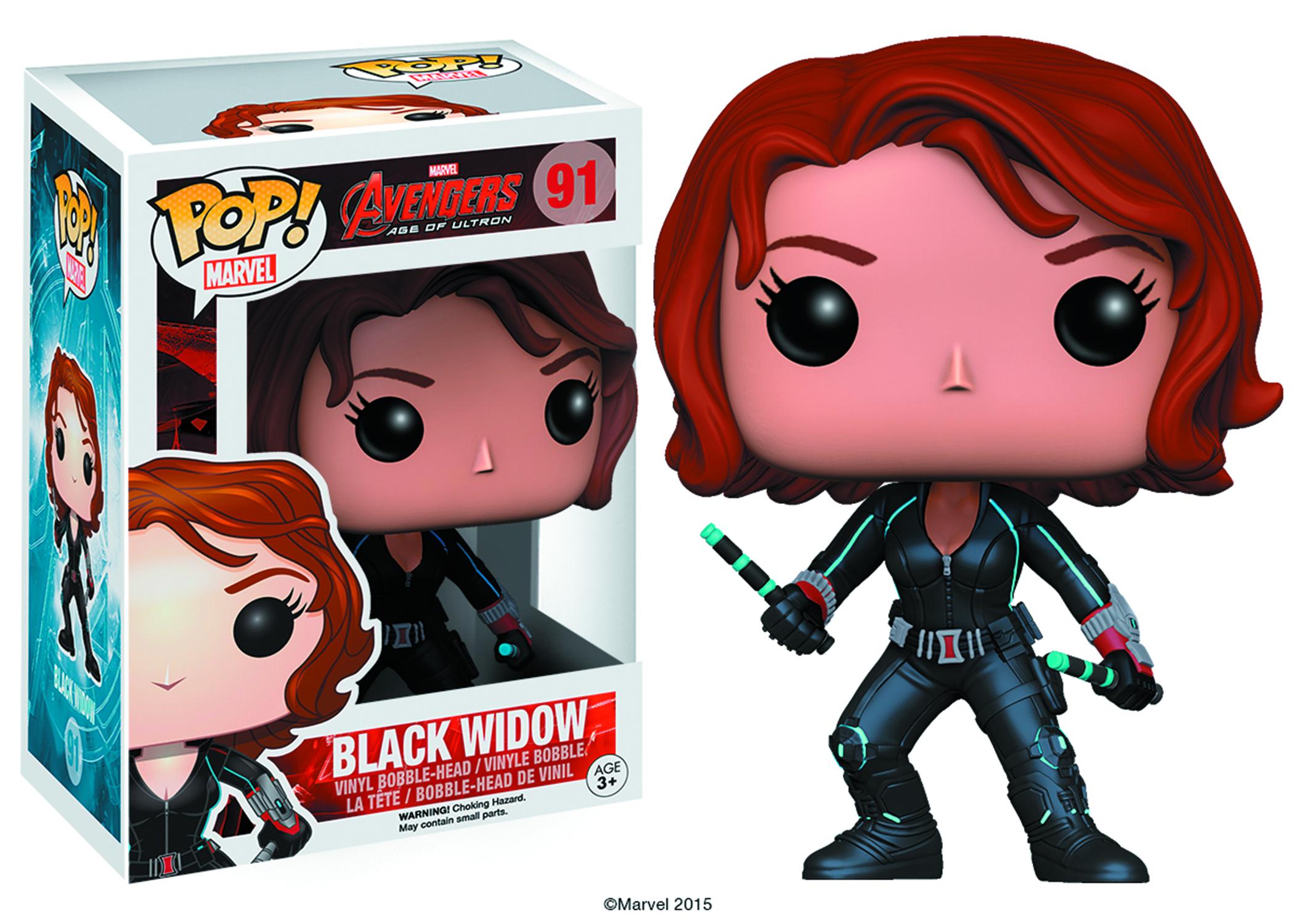 Jan158250 Pop Avengers Aou Black Widow Vinyl Fig
