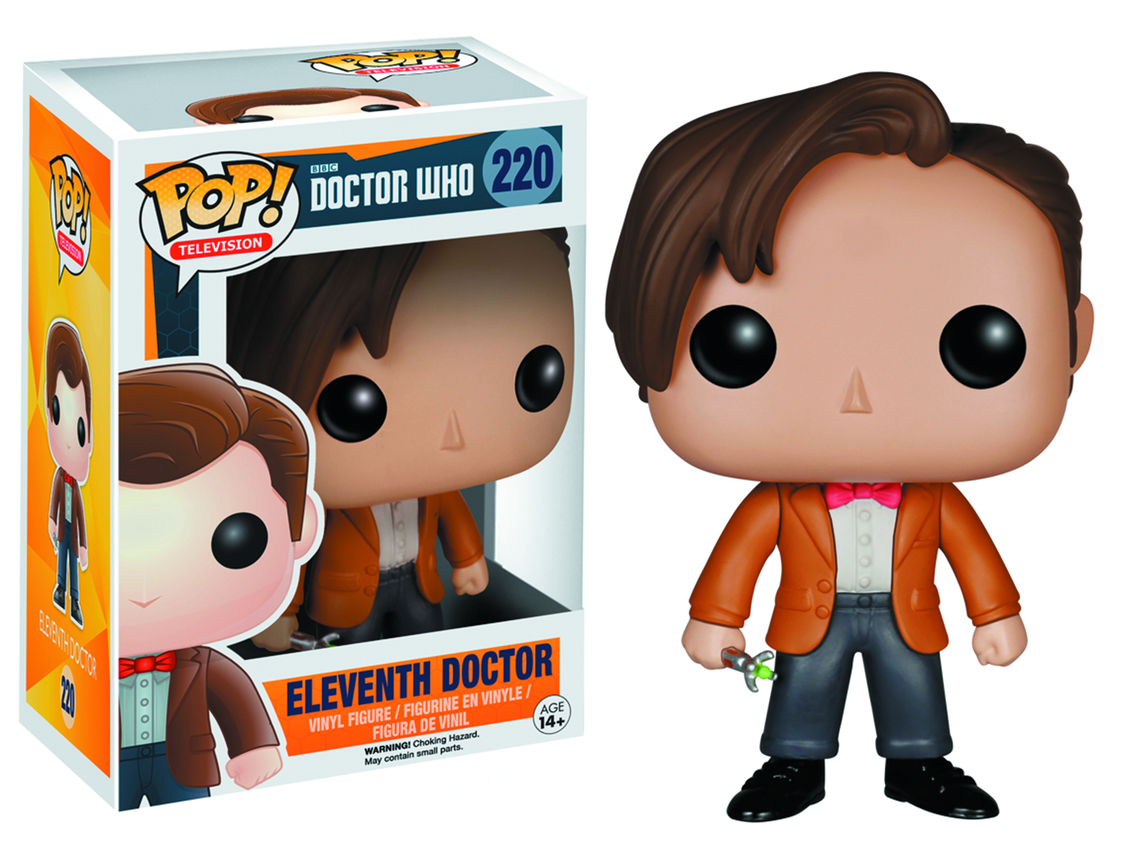 POP DOCTOR WHO 11TH DOCTOR VINYL FIG