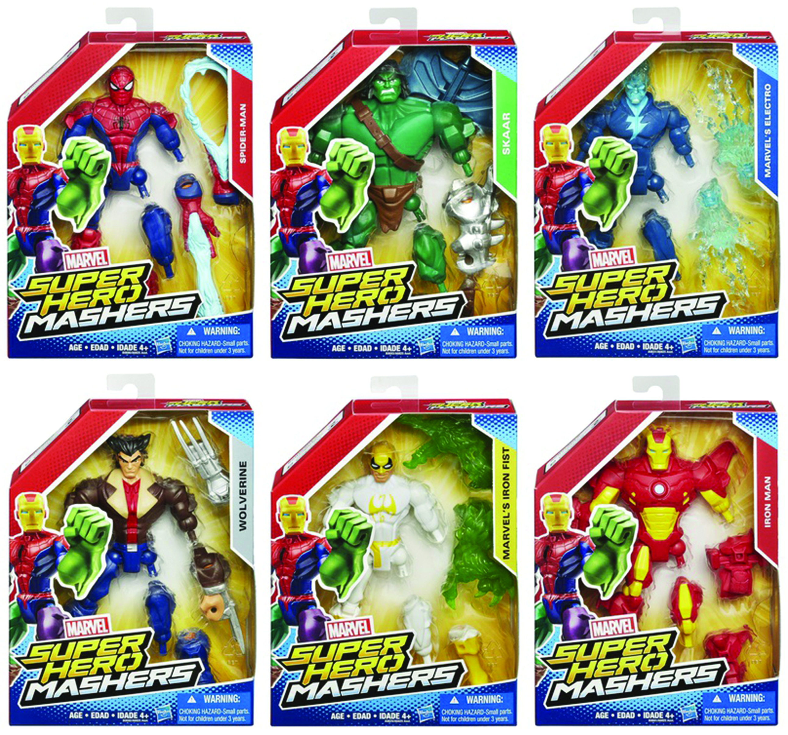 AVENGERS SUPER HERO MASHERS 6IN AF ASST 201502