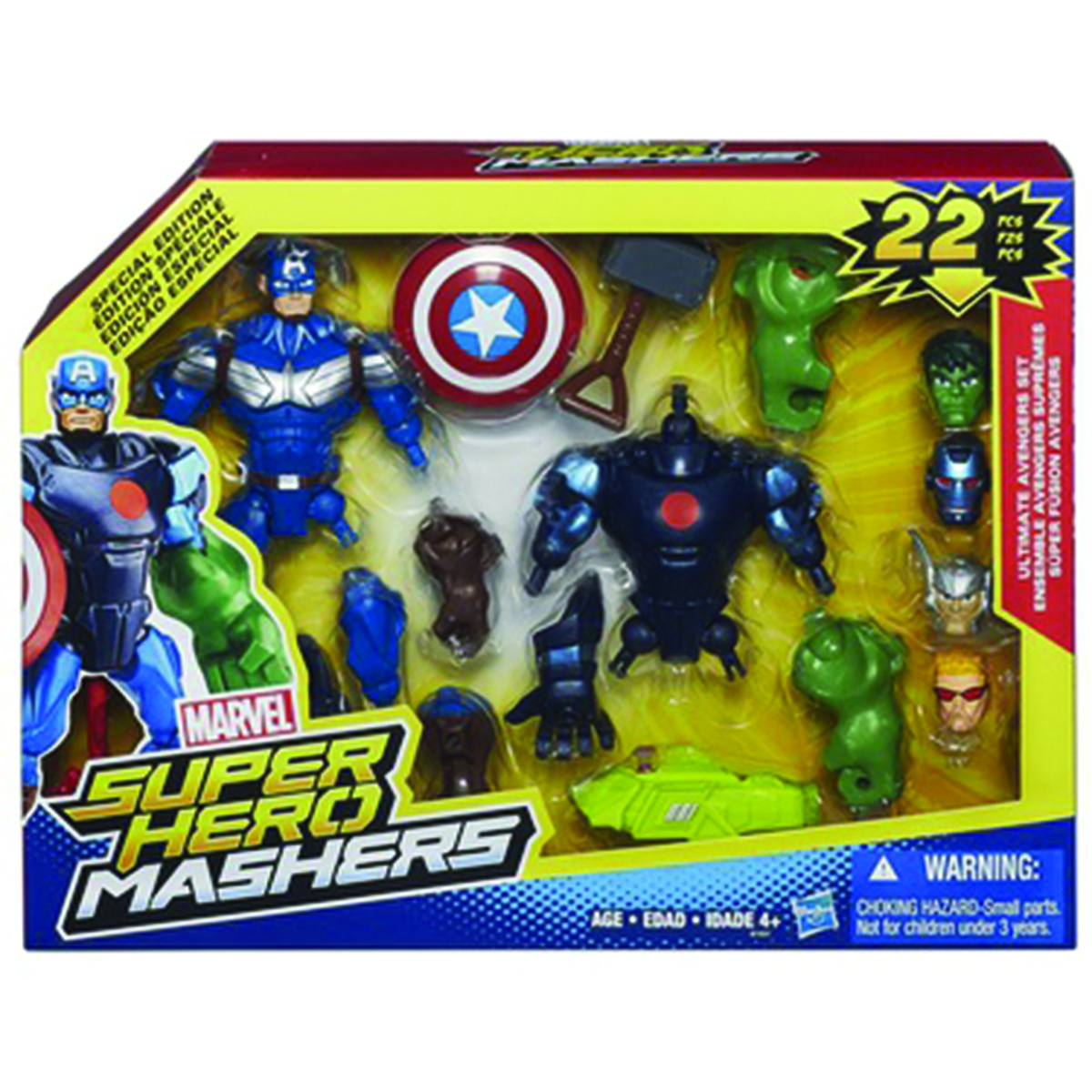 AVENGERS SH MASHER ULTIMATE AVENGER SET CS
