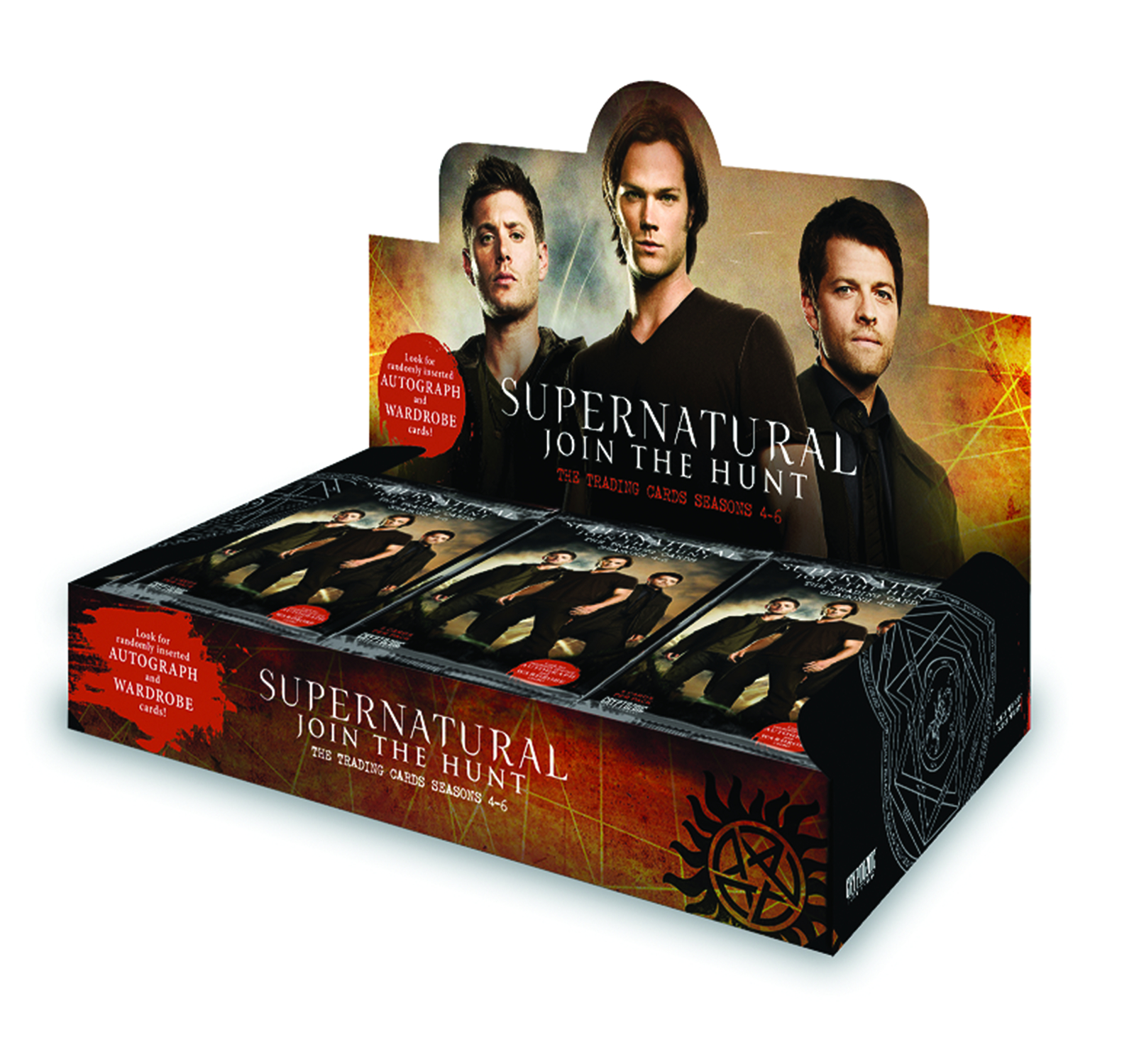 SUPERNATURAL SEASON 4-6 T/C BOX