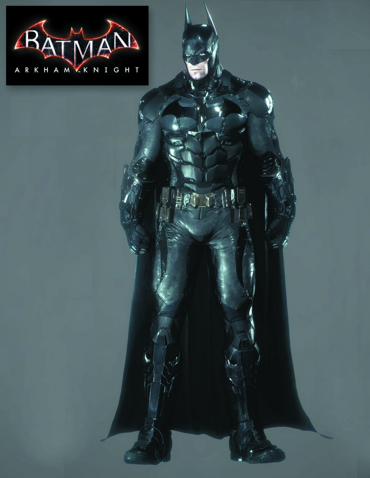 BATMAN ARKHAM KNIGHT 1/4 SCALE AF